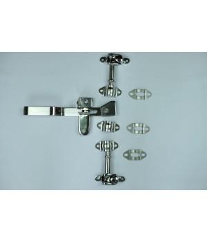 Запорный механизм, прямая ручка, диаметр 22 мм (без трубы)