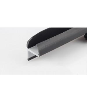 Резинопластиковый уплотнитель Г-образный 25 мм.