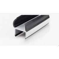 Резинопластиковый уплотнитель П-образный 25 мм.