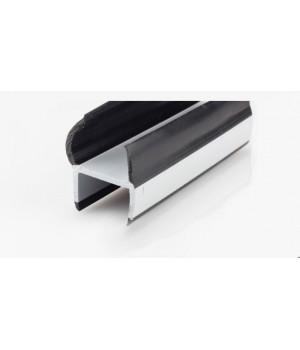 Резинопластиковый уплотнитель П-образный 30 мм.