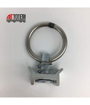 Кольцо крепления груза для алюминиевой рейки