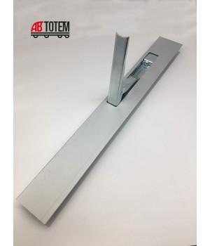 Алюминиевая стойка с замком 600 мм